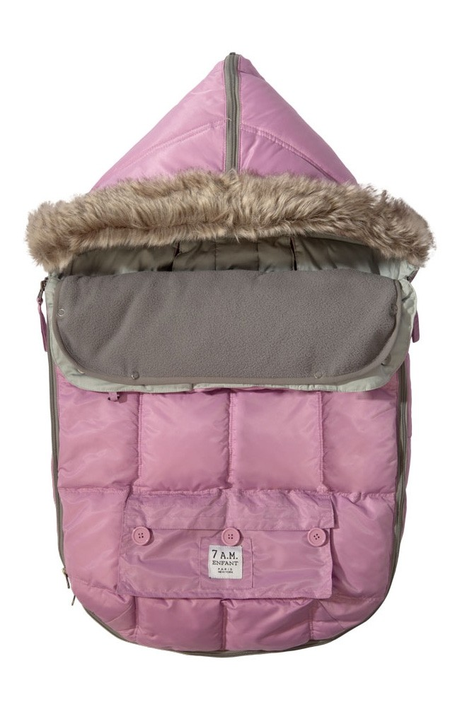 Le Sac Igloo Baby Stroller Cover (Pink)