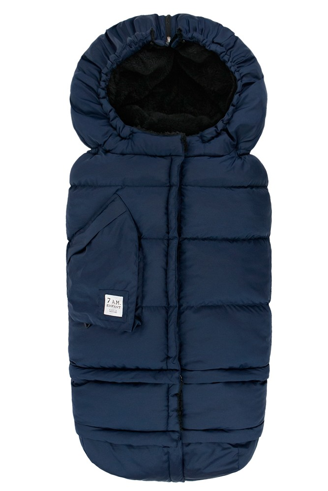 7 AM Enfant Blanket  212 Evolution (Midnight Blue)