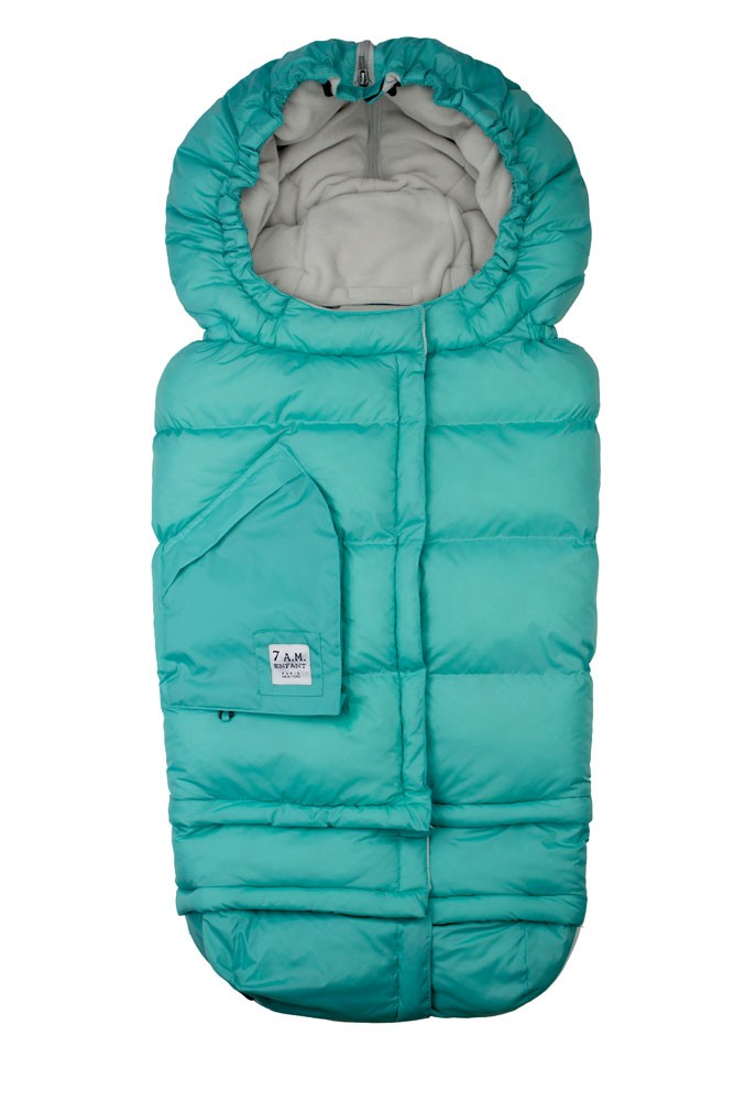 7 AM Enfant Blanket  212 Evolution (Teal)