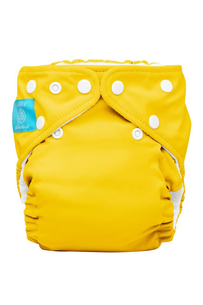 Charlie Banana® 2-in-1 One Size Reusable Diapers (Yellow)