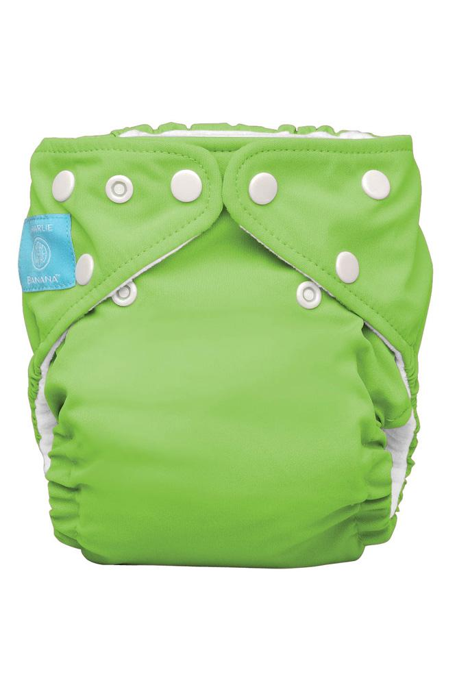 Charlie Banana® 2-in-1 One Size Reusable Diapers (Green)