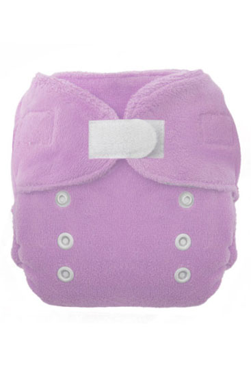 Thirsties Duo Fab Fitted Cloth Diaper (Orchid)