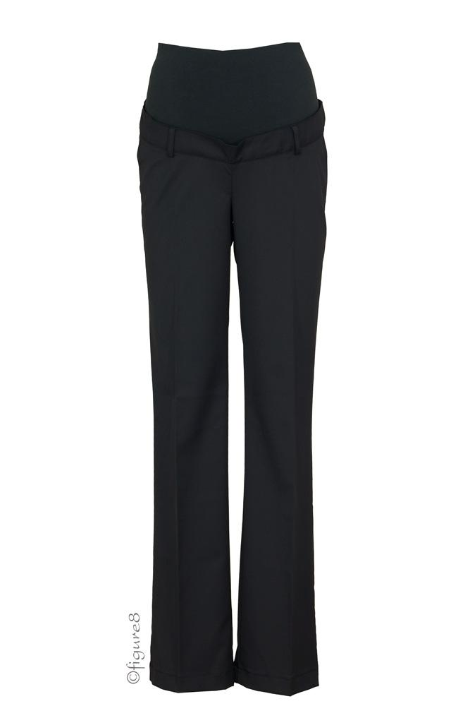 The Lisbon Maternity Pants (Black)