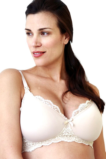 Serena Wireless Nursing Bra (Cafe)