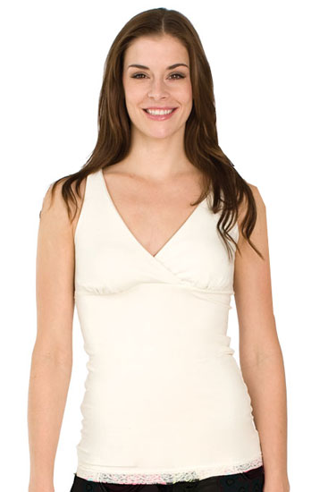 The Organic X-Long Original Nursing Tank (Ivory)