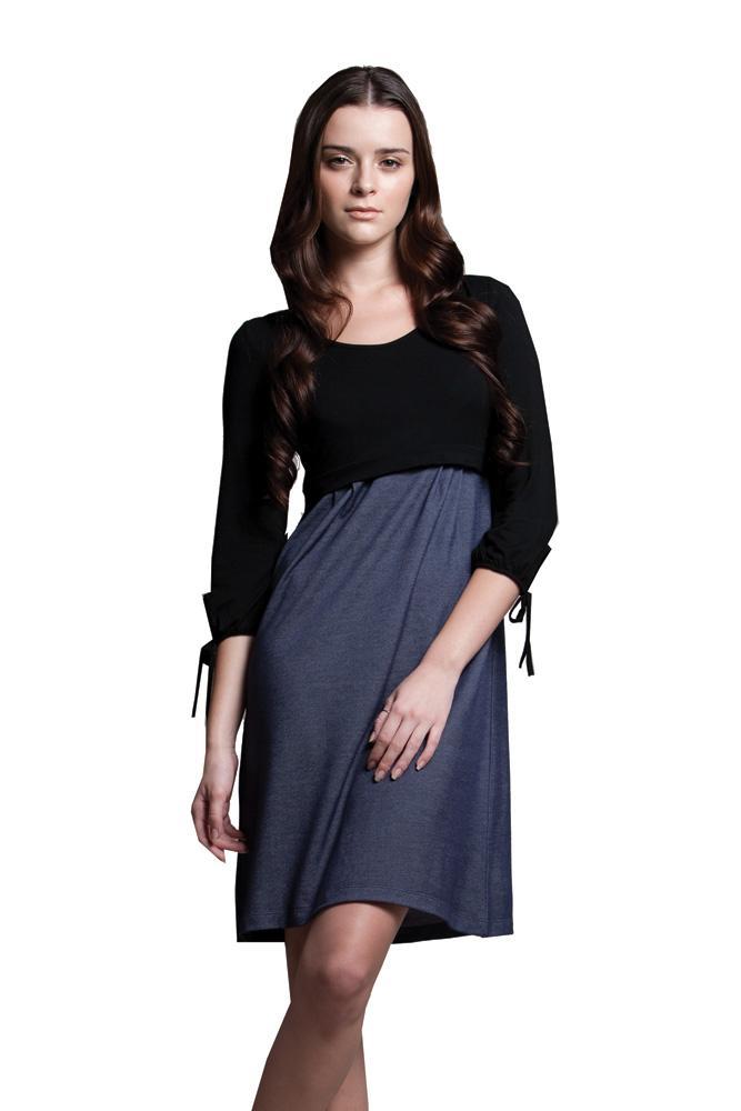 DOTE Patti Maternity Nursing Dress is perfect for discreet