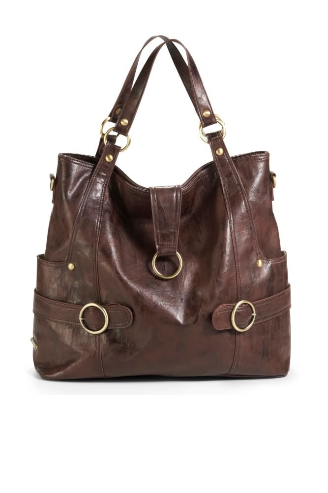 Timi & Leslie Hannah Diaper Bag (Cocoa Brown)