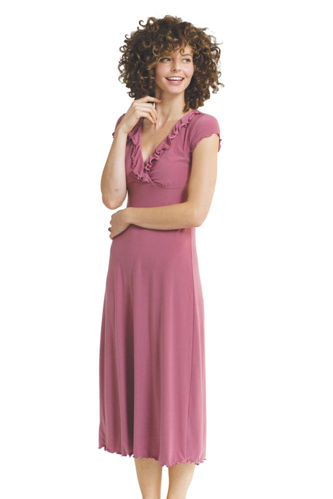 The Adelaide Nursing Gown (Raspberry)