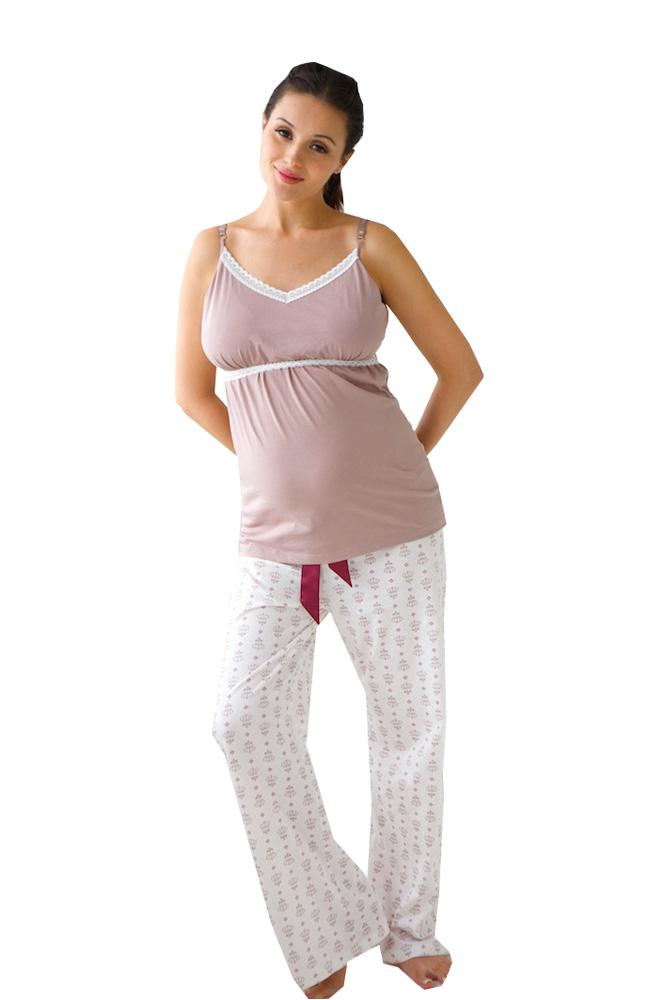Belabumbum Nursing Cami and Pant Set (Queen Bee)