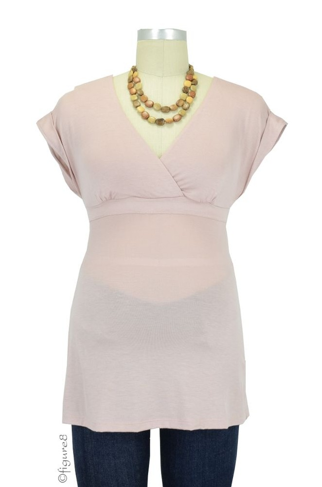 Majamas Treasure Nursing Top (Blush)