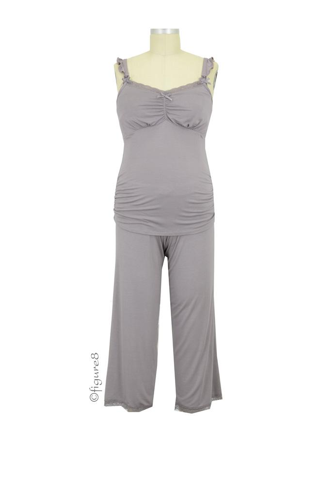 Cake 3/4 Pant and Cami Nursing PJ Set (Apple Crumble)