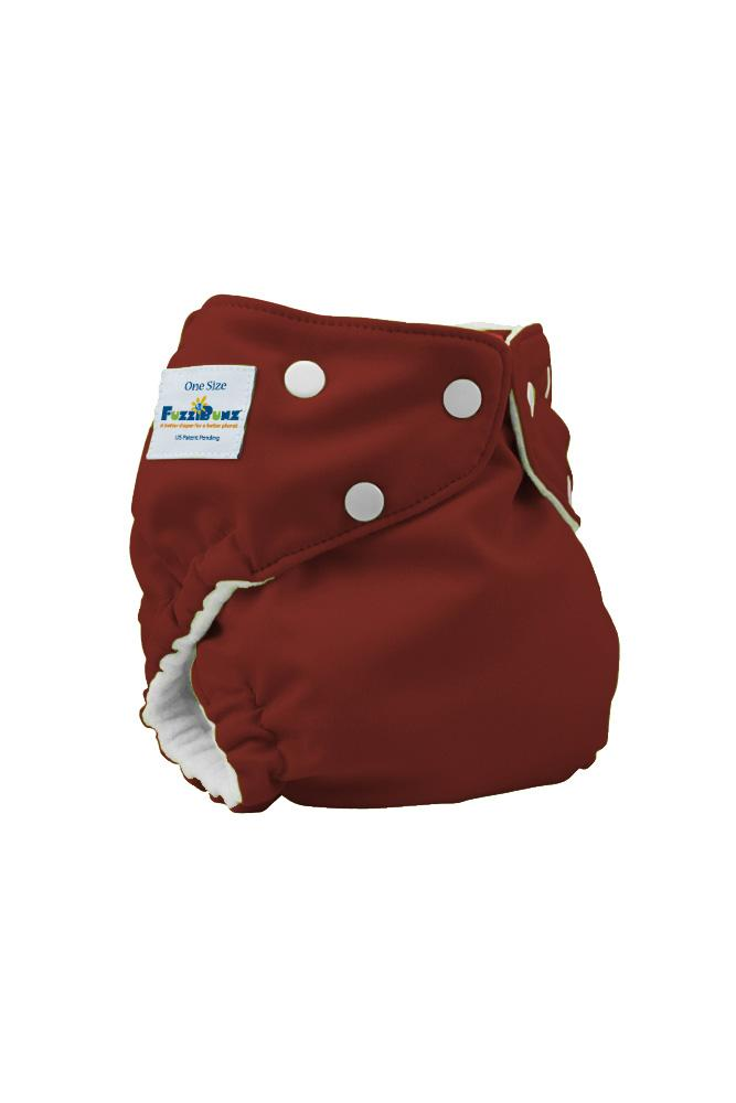 FuzziBunz Elite One-Size Cloth Diapers (Choco Truffle)