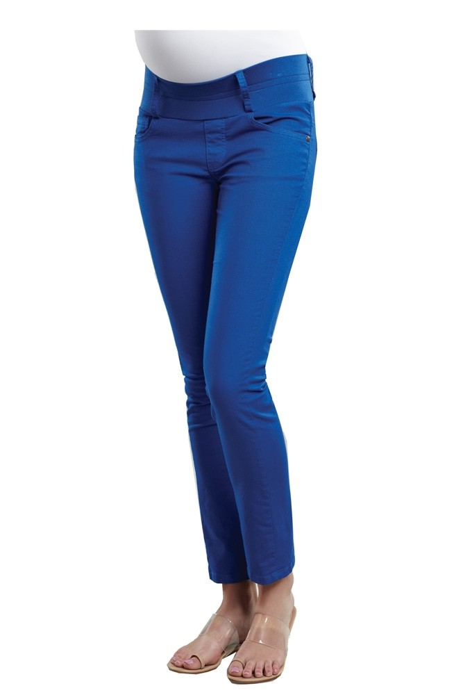 Skinny Ankle Maternity Jeans (Royal)