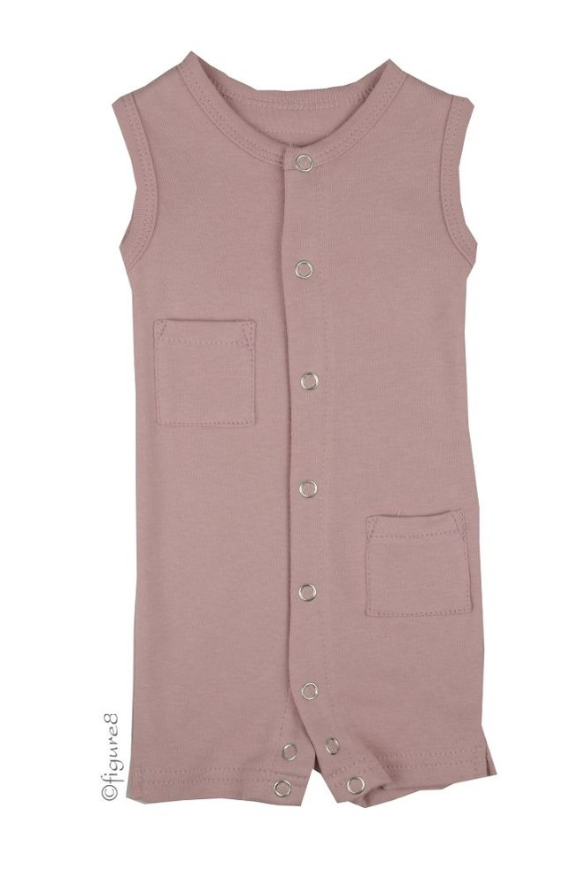 L'ovedbaby Girl Shortalls (Think Pink)