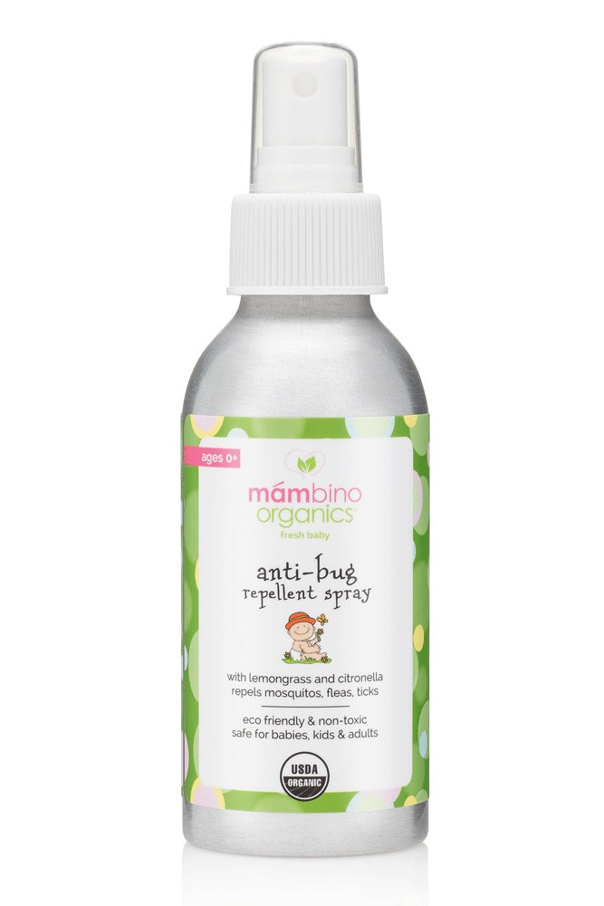Mambino Organics Organic Bug Away Repellent Spray *USDA Certified Organic