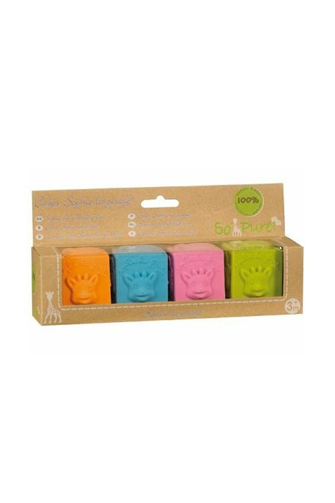 SO'PURE Sophie the Giraffe Building Blocks (Multi-color)