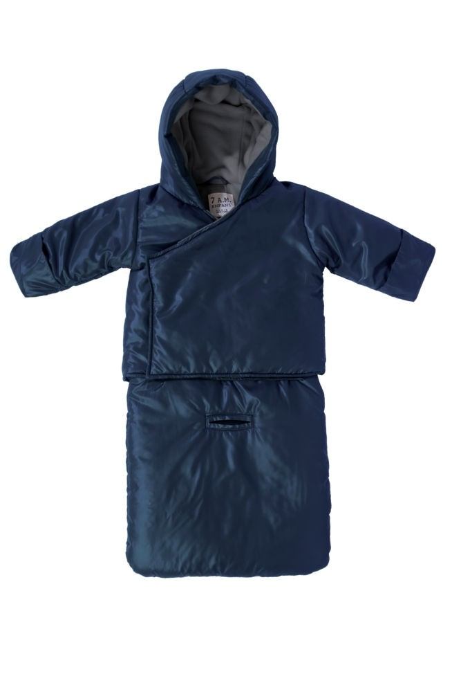7 am Enfant Bag O Coat (Midnight Blue)