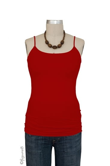 Basic Seamless Maternity Cami (Red)