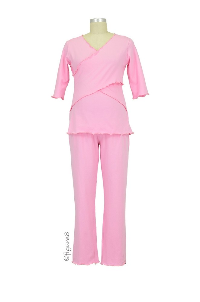 Wynn Cross Front Nursing PJ (Pink)