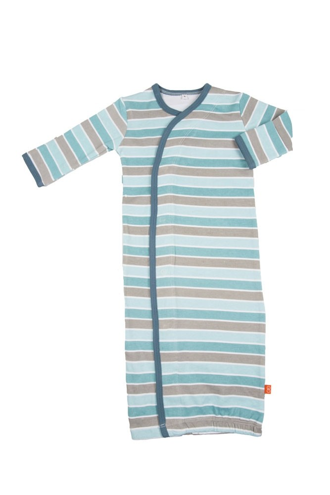 Magnificent Baby Boy Gown (Stripes)