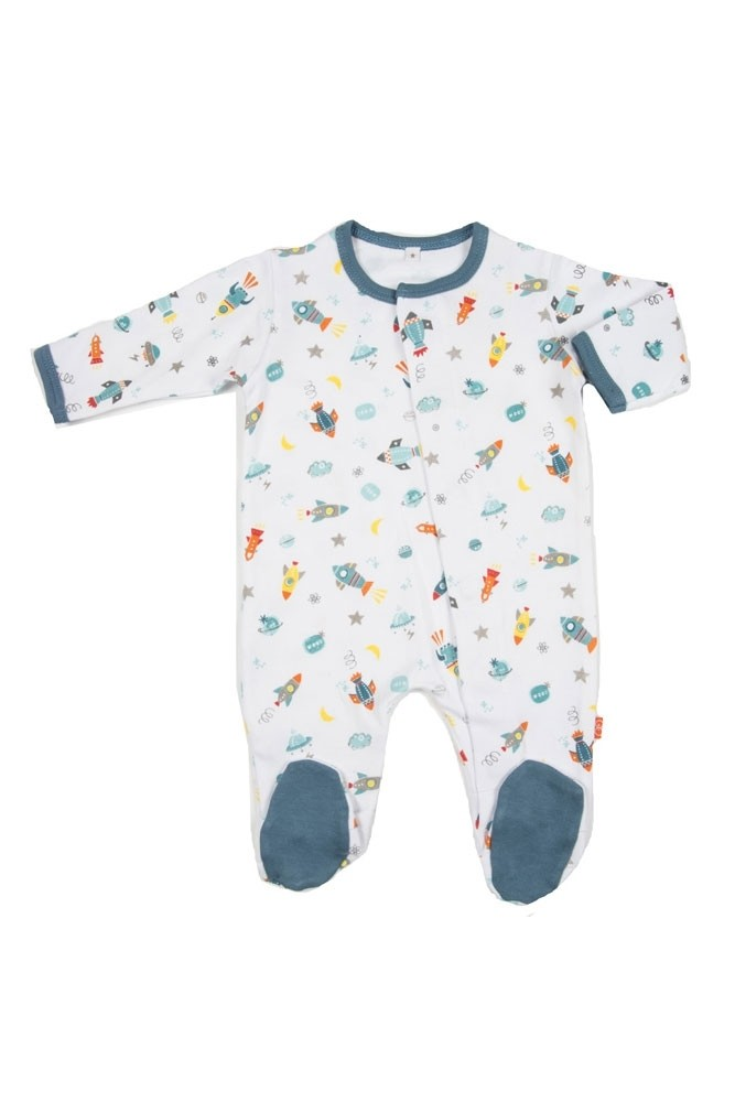 Magnificent Baby Boy's Footie (Rockets)