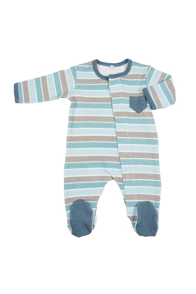 Magnificent Baby Boy's Footie (Stripes)