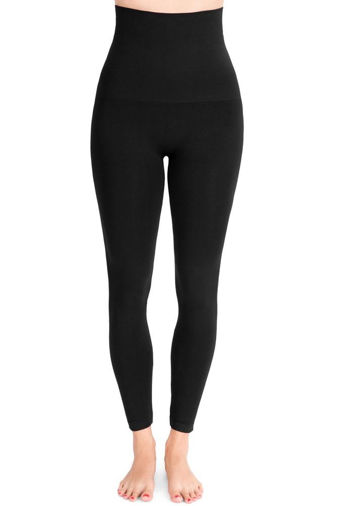 11d324fe37c076 Mother Tucker® Compression Leggings in Black by Belly Bandit