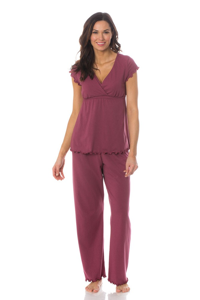 Majamas Genna Maternity & Nursing PJ Set (Baya)