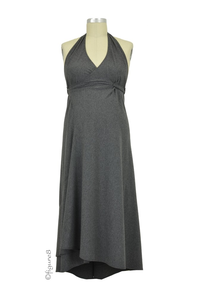 Pretty Pushers 3-in-1 Transition Gown (Heathered Charcoal)
