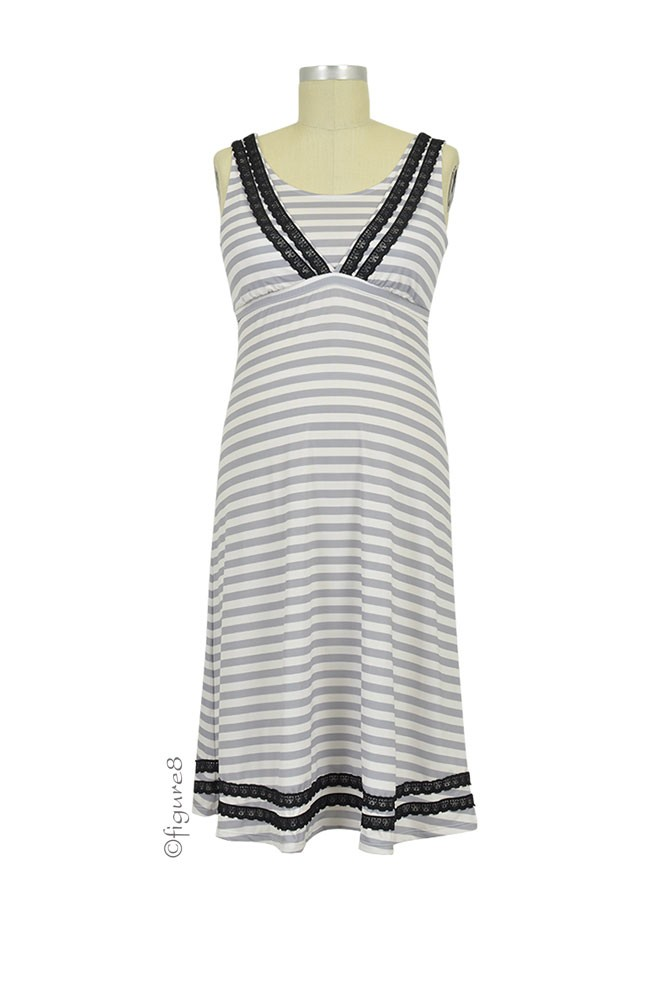Majamas Celia Nursing Dress (Boardwalk)