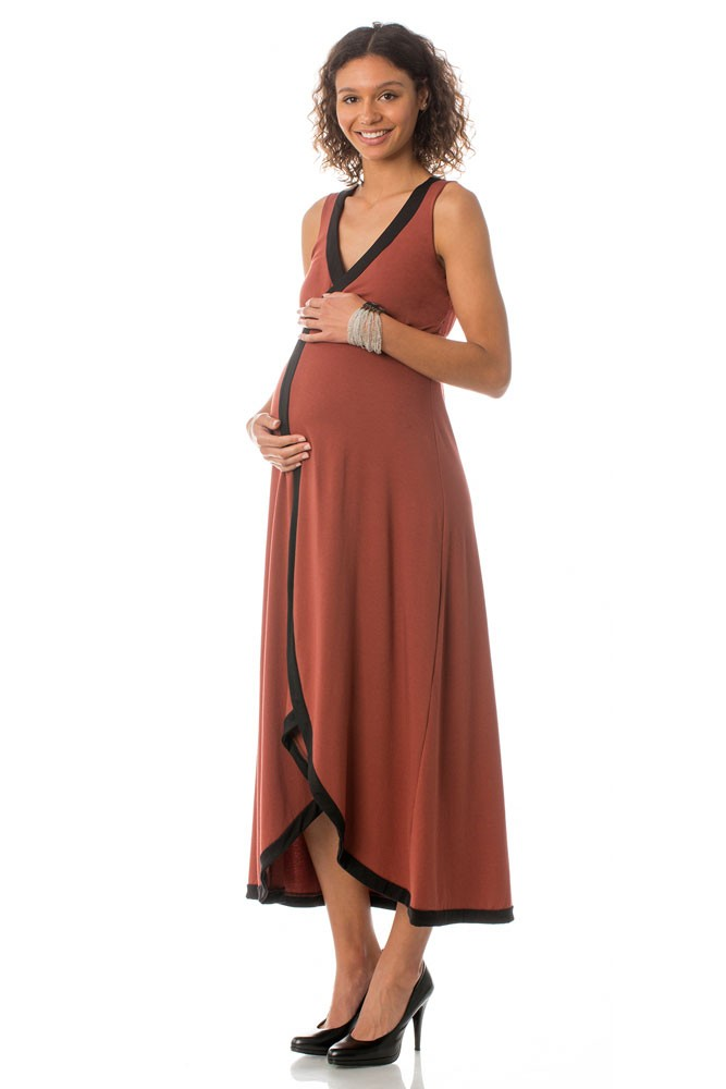 Majamas Dream Maternity & Nursing Dress (Picante)