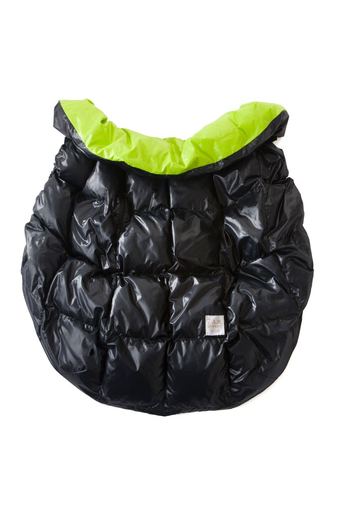 7 am Enfant Cygnet Cover (Black/Neon Green)