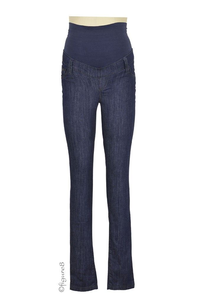 Dallas Skinny Maternity Jean (Dark Denim)