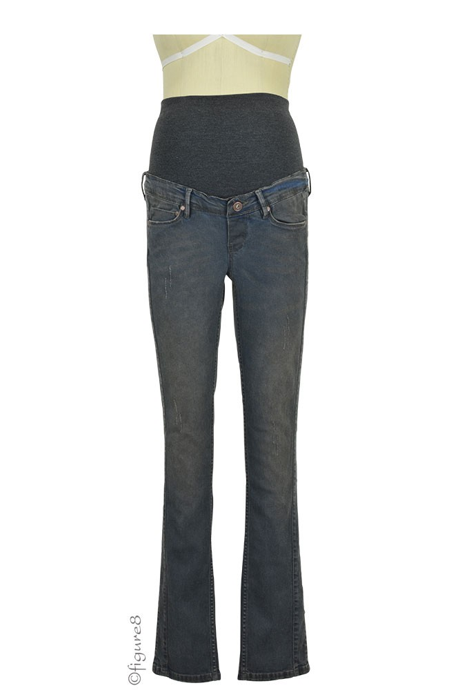 Lexi Slim Maternity Jeans (Dark Wash)