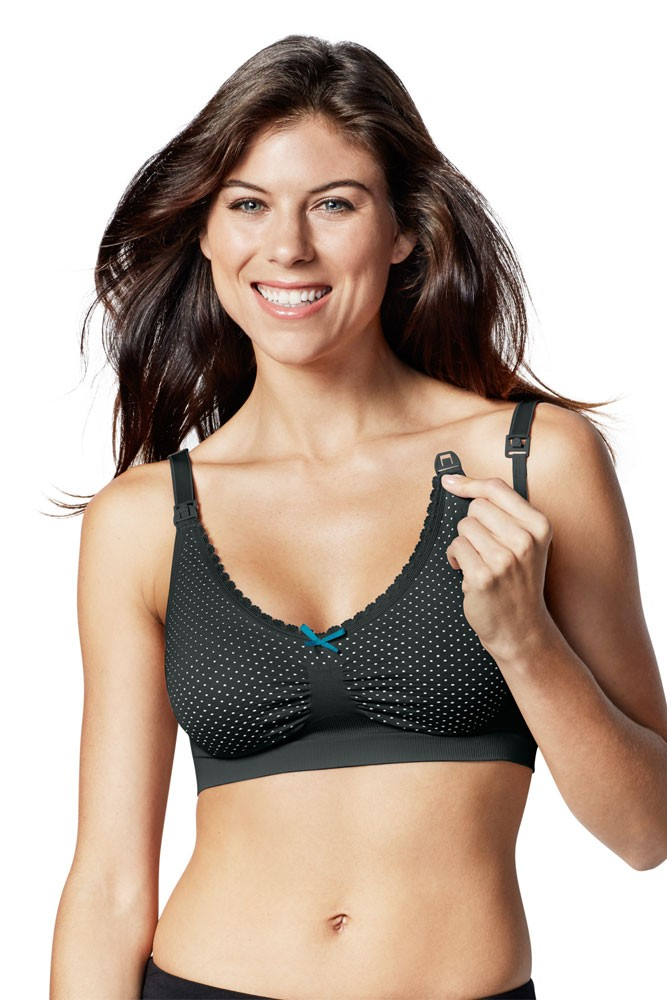 Love Dot La Leche League Lace Underwire Nursing Bra for Women w//Easy Drop Cups