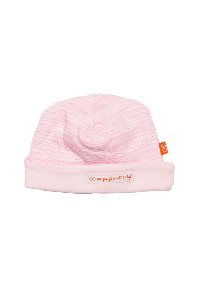Magnificent Baby Magnetic Me™ Reversible Baby Girl Cap (Birch)
