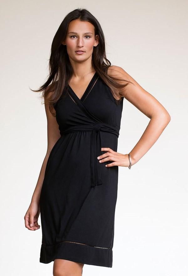Boob Design Juno Maternity Nursing Dress In Black