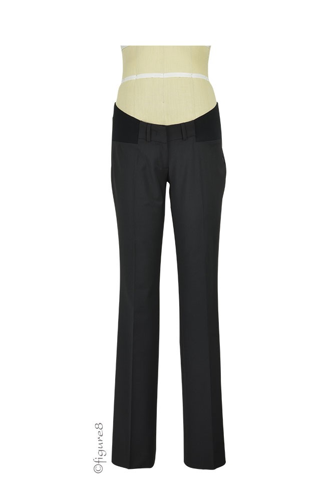 Slacks & Co. NYC Maternity Career Pant (Black)
