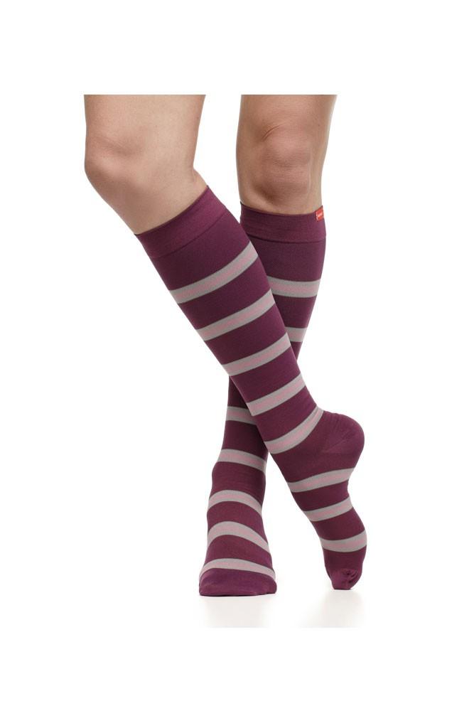 aaa8482112 Vim & Vigr 15-20 mmHg Women's Stylish Compression Socks - Nylon in ...