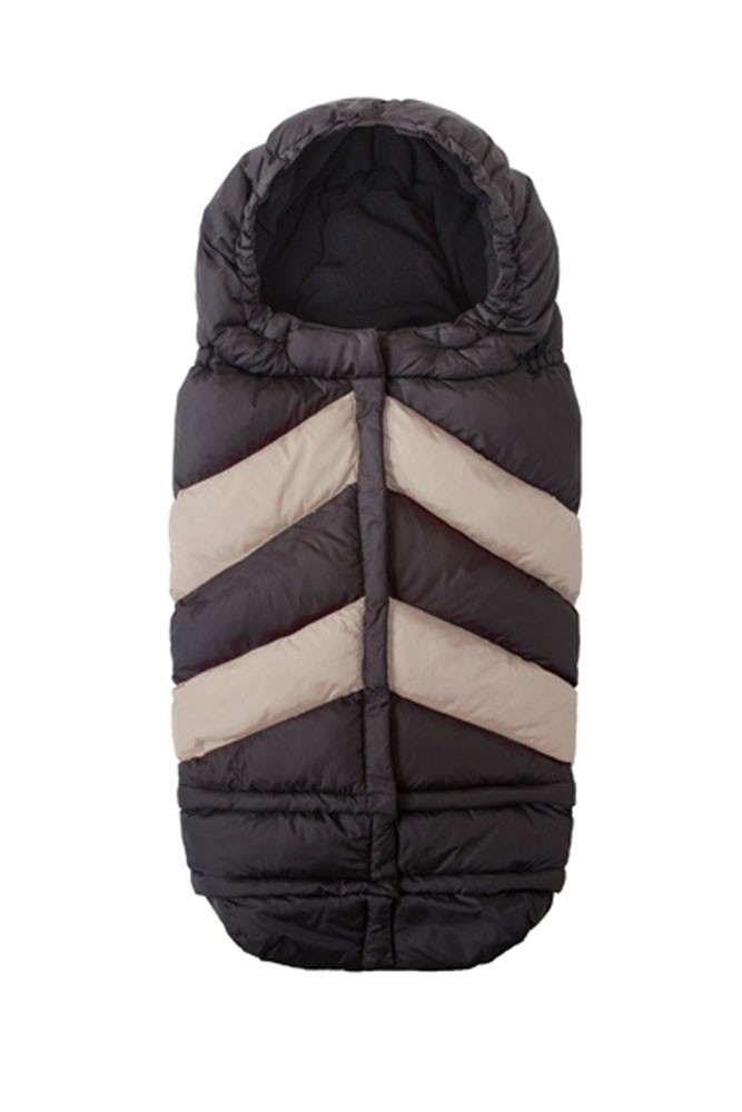 7 AM Enfant Blanket 212 Evolution Chevron (Black/ Beige)