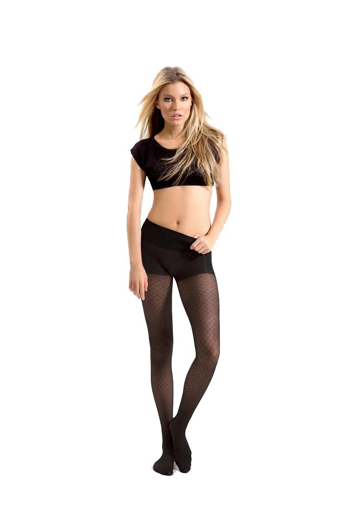 Product Features Wearing these fishnet tights with your denim trousers for a casual day.