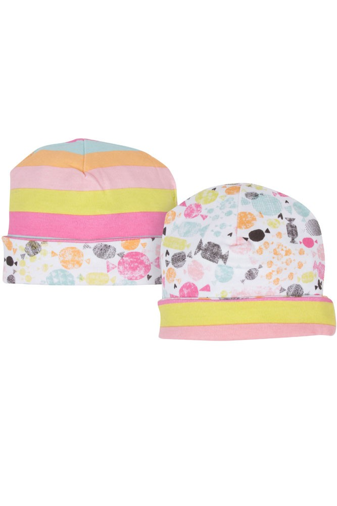 Magnificent Baby Girl Reversible Hat (Sweet Treats)