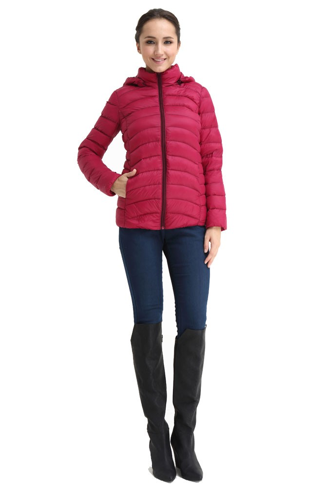 Spring Maternity Belle Hooded Down 3-in-1 Maternity Jacket ...