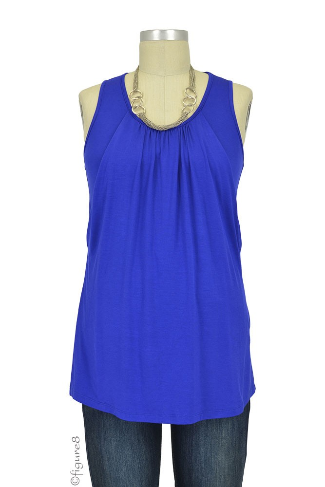 The Reliable Nursing Tank by Milky Way (Royal Blue)