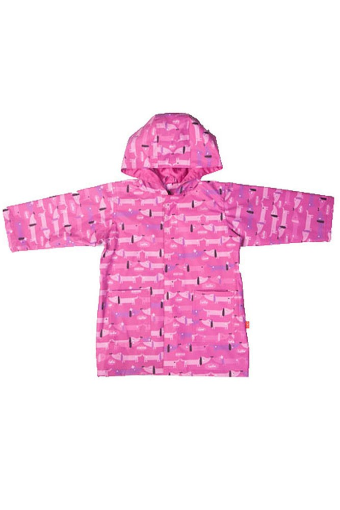 Magnificent Baby Smart Close™- Raincoat (Girl Hot Dog)