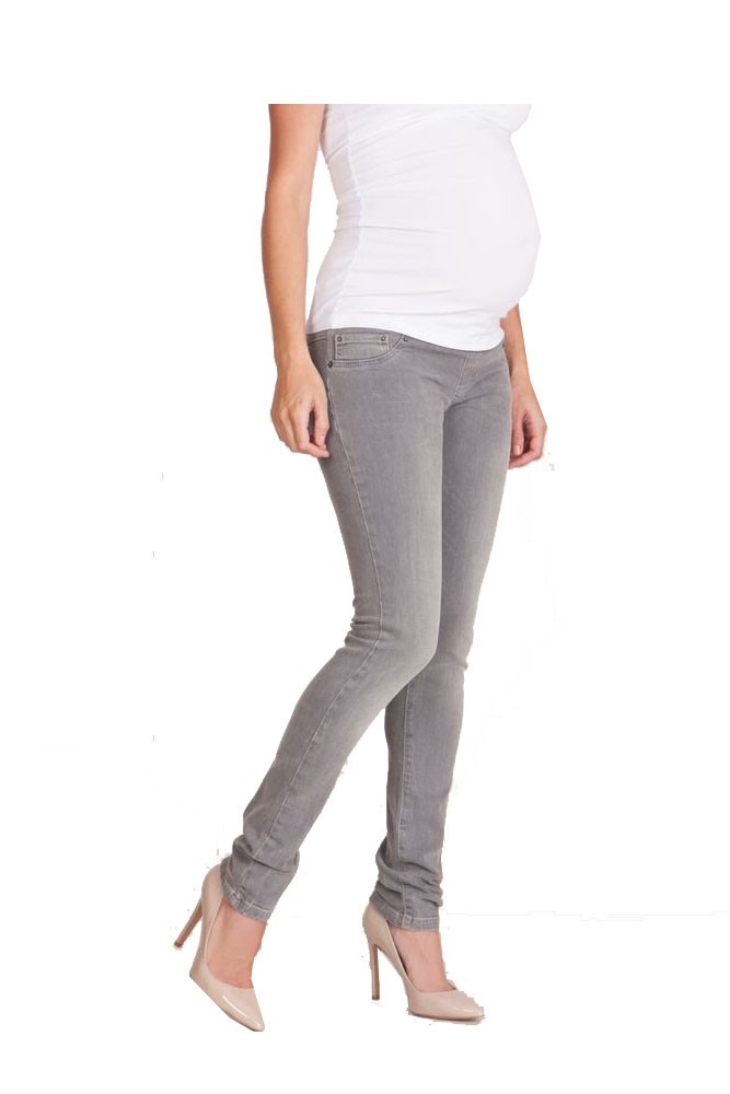 Seraphine Angelina 2 Skinny Underbelly Maternity Jeans (Grey)