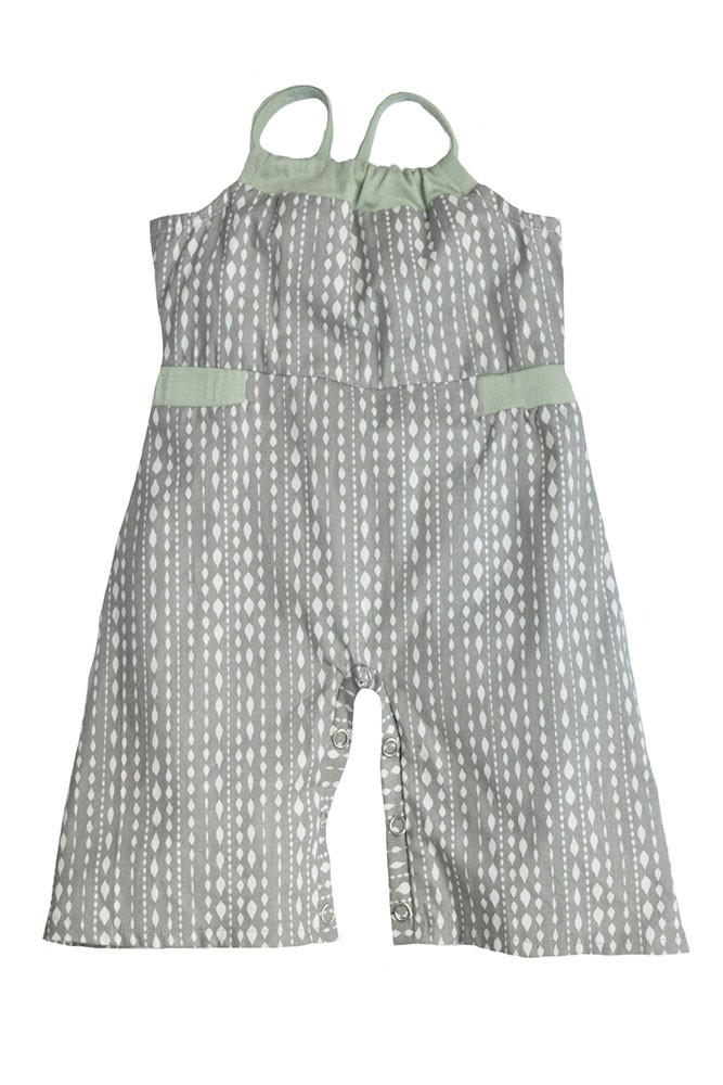 Dollie Baby Jumpsuit by Shirley & Victor (Steel Diamond)