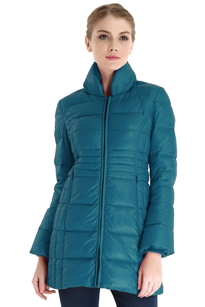 Bella 3-in-1 Down-Filled Mommy & Me Jacket by Spring Maternity (Teal)