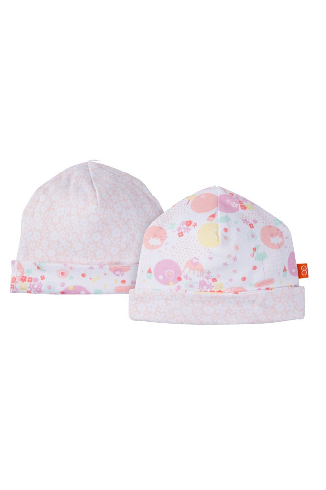 Magnificent Baby Magnetic Me™ Reversible Baby Girl Cap (It's Amazing Print)