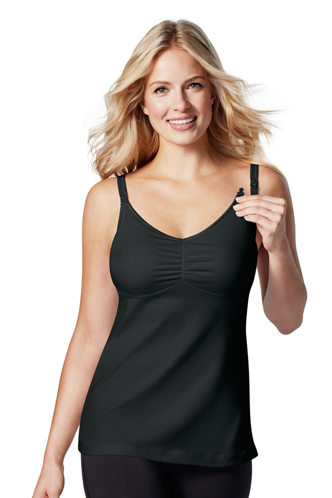 d61e8d90a Bravado Designs Dream Maternity   Nursing Tank in Black